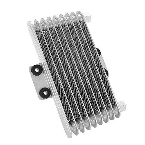 Keeno - Radiador de enfriamiento de aceite para transmisión de motor de 125 cc, 250 cc, motocicleta, moto de cross, ATV (125...