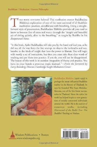 Amazon mindfulness with breathing a manual for serious amazon mindfulness with breathing a manual for serious beginners 9780861711116 buddhadasa bhikkhu santikaro bhikkhu books fandeluxe Images
