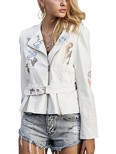 Suede Embroidered Jacket - 7