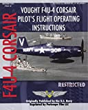 Vought F4U-4 Corsair Pilot's Flight Operating Instructions