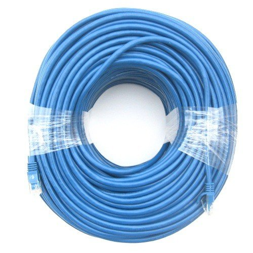 RiteAV - Cat6 Network Ethernet Cable - Blue - 250ft (Certified Fluke Tested) 250' Cat5 Cable