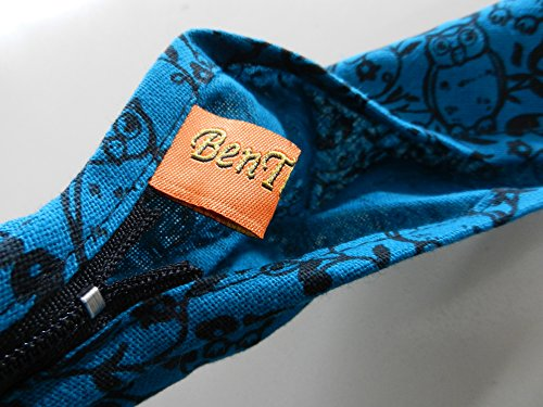 BenThai Products, Borsa a tracolla donna marrone Khaki OF1 large