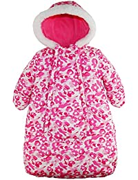 Baby Girls Snowsuit Carbag Floral Camo Winter Puffer Bunting Pram
