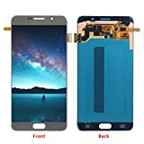 HJSDtech LCD Touch Glass Screen Display Digitizer Assembly Replacement for Samsung Galaxy Note 5 N920 N920f N920t N920a(Gold)