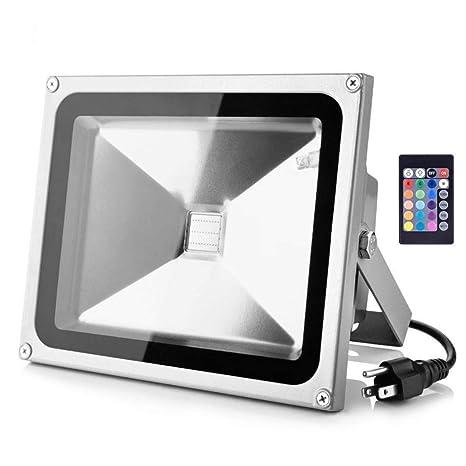 Amazon.com: LOFTEK - Foco LED RGB de seguridad para ...