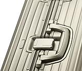 Rimowa Topas Titanium Aluminium IATA Luggage