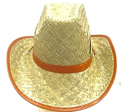 Buy Wanna Party Brown Cane Hat (Brown
