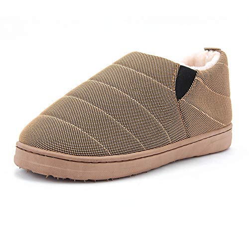 Thicken Home Tan Non Women Cotton Slippers Indoor Couple Warm Slippers Casual Shoes amp;KATE WILLIAM Light Men's Cotton Slip xUIYUqp