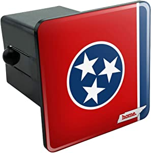Graphics and More Tennessee TN Home State Flag Officially Licensed Tow Trailer Hitch Cover Plug Insert 2""