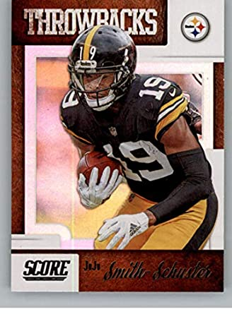 premium selection e1305 2b618 Amazon.com: 2019 Score Throwbacks #19 JuJu Smith-Schuster ...