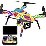 MightySkins Protective Vinyl Skin Decal for 3DR Solo Drone Quadcopter wrap cover sticker skins Peaceful Explosion