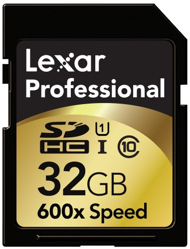 Lexar Professional 600x 32GB SDHC UHS-I Flash Memory Card LS