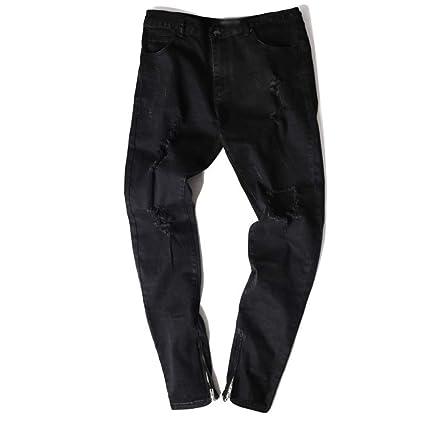 XWH Estiramiento de la Marca de la Marea Pantalones lápiz de ...