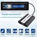 CATUO Wireless Car Bluetooth Hands-free AUX Interface Adaptor for FORD car with A2DP Stereo Streaming Music Playback