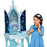 Disney Frozen 2 Elsa's Enchanted Ice Vanity, Includes Lights, Iconic Story Moments & Plays 'Vuelie' and 'Into the Unknown' For Ages 3+