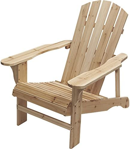 Leigh Country Fir Unpainted Adirondack Chair