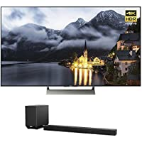 Sony XBR-65X900E 65-inch 4K HDR Ultra HD Smart LED TV (2017 Model) w/ Sony HT-ST5000 7.1.2ch 800W Dolby Atmos Sound Bar