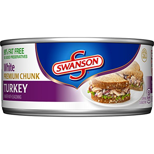 Swanson White Premium Chunk Turkey, 9.7 Ounce (Packaging May Vary) Campbells Turkey