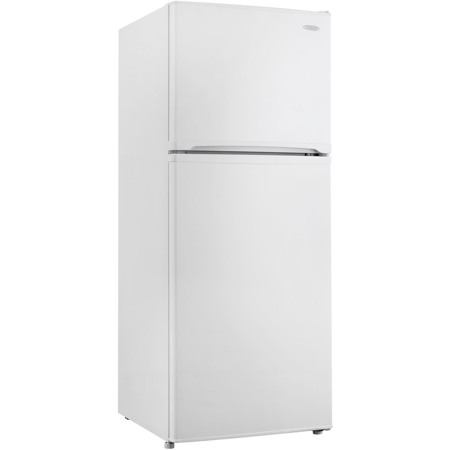Danby DFF100C1WDB Frost-Free Refrigerator with Top-Mount Freezer, 9.9 Cubic Feet, White ALMO - Dropship