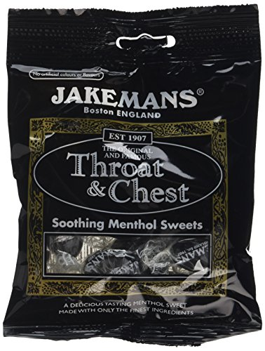 Jakemans Throat and Chest Bags 100g (Pack of 10)