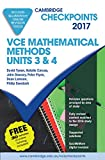 Cover of Cambridge Checkpoints VCE Mathematical Methods Units 3 and 4 2017 and Quiz Me More