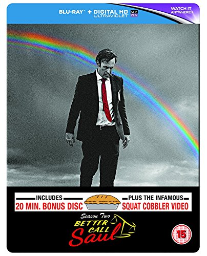 Better Call Saul - Season 2 [Limited Edition Steelbook] [Blu-ray] -  Bob Odenkirk
