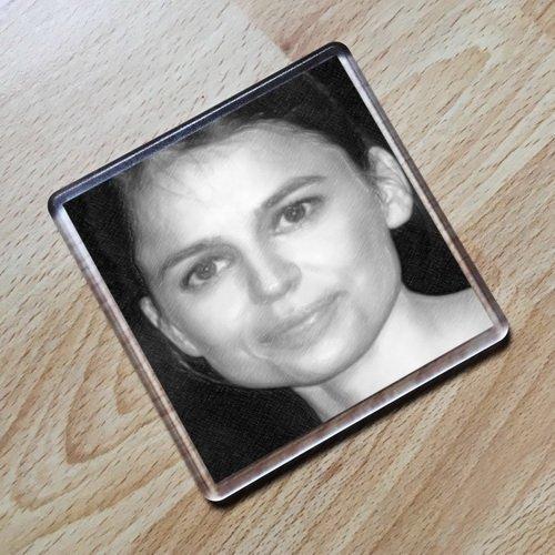 Seasons Elena Anaya - Original Art Coaster #js005