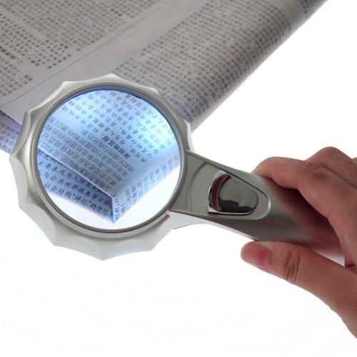 abs magnifier glass 6 light