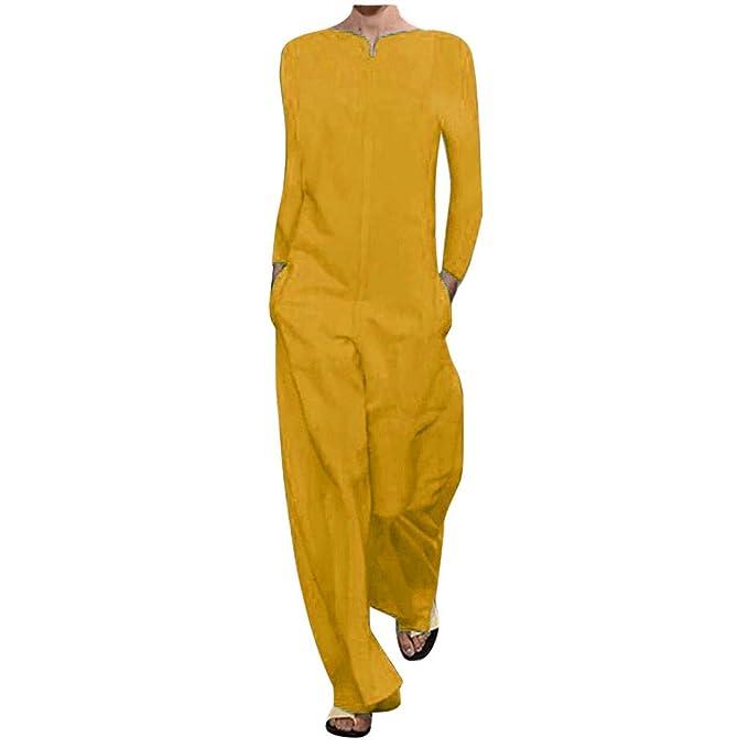 Monos Largos de Vestir Mujer, SUNNSEAN, Tirantes Pantalones ...