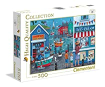 Clementoni Puzzle Ice Cream on the Seaside - 500 pieces Collection