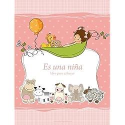 Es una niña libro para colorear 1 (Volume 1) (Spanish Edition)