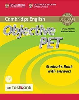 حل كتاب objective pet