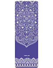 TOPLUS Yoga Mat - Classic 1/4 inch Pro Yoga Mat Eco Friendly Non Slip Fitness Exercise Mat with Carrying Strap-Workout Mat for Yoga, Pilates and Floor Exercises