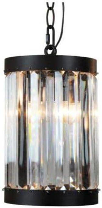 Home Decorators Collection 1-Light Oil-Rubbed Bronze Indoor Glass Mini Pendant