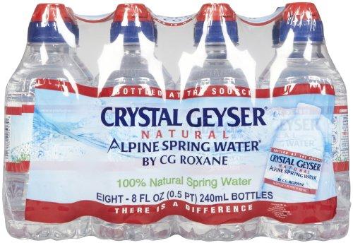 (Crystal Geyser Bottled Water w/ Sport top Kid Pack - 8 oz - 32)
