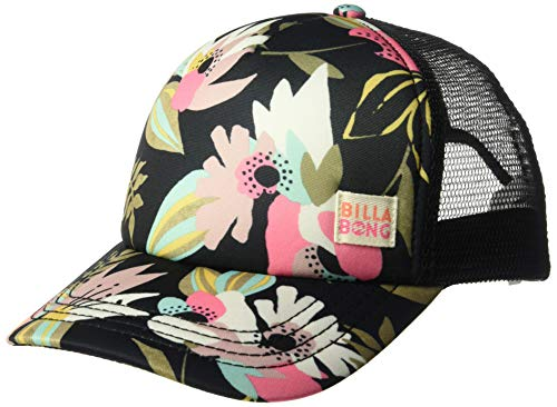 Billabong Girls' Shenanigans Trucker Hat Just Peachy One Size ()
