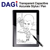 DAGI Capacitive Stylus for iPod Touch, iPad , iPhone Black P504