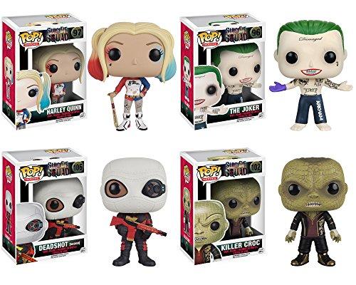 Funko Suicide Squad: POP! Movie Action Figure Collectors Set