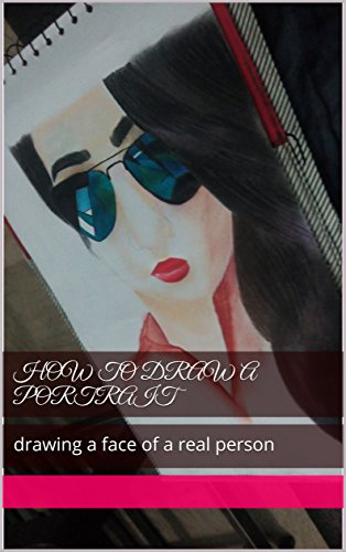 how to draw a portrait: drawing a face of a real - Sunglasses How Draw To