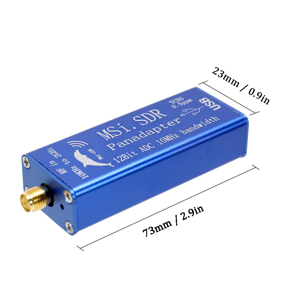 Broadband Software Radio MSI.SDR 10KHz-2GHz Panadapter Module Compatible with SDRPlay RSP1