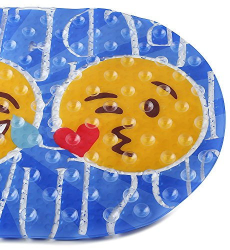 """FOMI Emoji Kids Bath Mat 