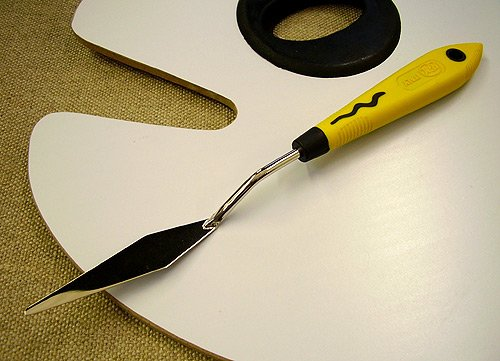 RGM Stainless Steel Italian Palette Knife #050