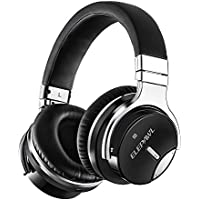 Elepawl Active Noise Cancelling Wireless Headphones Advanced ANC Technology Hi-Fi Stereo Over-Ear Headset Ultra Soft Protein Earpads with Built-in Mic Designed for Pro Gaming Studio Long Time Travel
