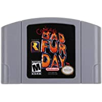 Bad Fur Day Game Card For Nintendo 64 N64 US Version Fit Quantity remaining
