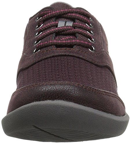Clarks Womens Chaussure Aubergine Marche Sillian Emma Synthétique
