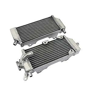 TARAZON Moto Enfriamiento del Radiador Enfriador aluminio para Yamaha WR250F 2015 2016 2017 YZ250FX 2015 2018