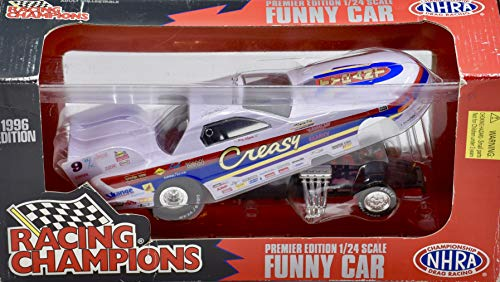 1996 - Gary Bolger - Creasy Family - Racing Champions/NHRA - 1:24 Scale Pontiac Funny Car - Die Cast Metal - Collectible