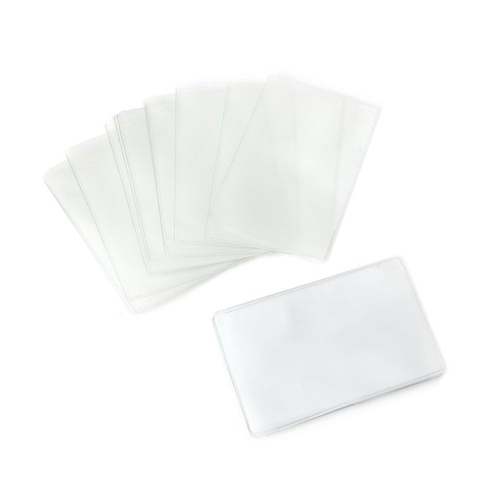 etc. Cartes de Groupe Cartes didentit/é SimpleLife Protecteurs de Carte en Plastique Transparent Doux de 20 pi/èces prot/ège-Cartes et Porte-Cartes de cr/édit pour Cartes de cr/édit