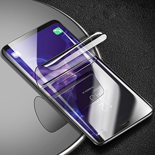 Sunfei Front+Back Ultra Thin Clear TPU Screen Protector Film For Samsung Galaxy S9/ Samsung Galaxy S9 Plus (6.2inch) by Sunfei (Image #1)