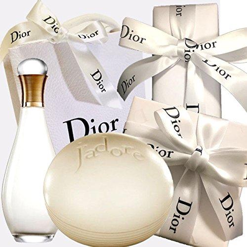 Dior(ディオール) ギフトラッピング済ジャドール シルキー ソープ 150g + ジャドール ボディ ローション 150mL B07CR75HF4
